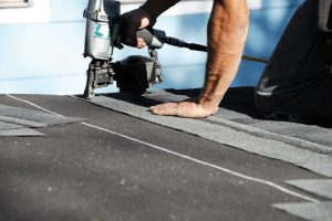 asphalt roof installation